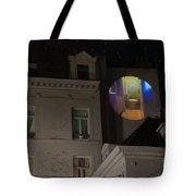 Toilet In Technicolor Tote Bag by Juli Scalzi