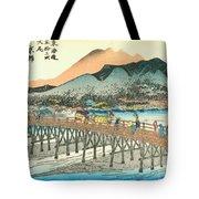 Tokaido - Kyoto Tote Bag