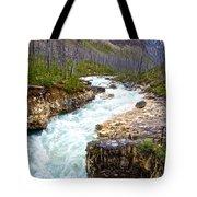 Tokuum Creek Flowing Into Marble Canyon In Kootenay Np-bc Tote Bag