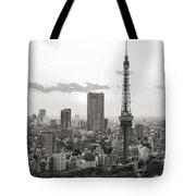 Tokyo Tower And The Zozo-ji Temple Tote Bag