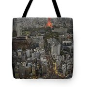 Tokyo Tower Sunset Tote Bag