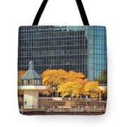 Toledo Riverfront 4195 Tote Bag