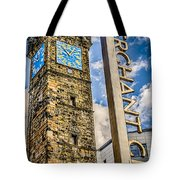 Tollbooth Clock Tower Glasgow Tote Bag