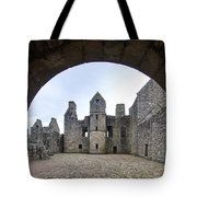 Tolquhon Castle 3 Tote Bag