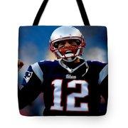 Tom Brady Back To The Super Bowl Tote Bag