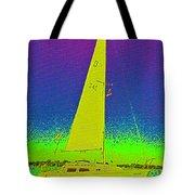 Tom Ray's Sailboat Tote Bag
