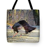 Tom Turkey Walking Tote Bag