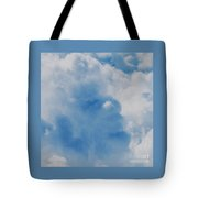 Tom Waits Caught In A Cloud Tote Bag