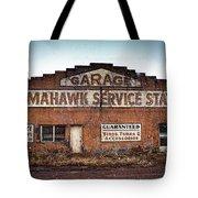 Tomahawk Garage Tote Bag