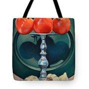 Tomato And Garlic Tote Bag
