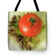 Tomato And Lettuce Tote Bag