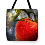 Tomato On A Vine Tote Bag
