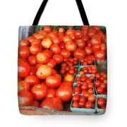 Tomatoes For Sale Tote Bag