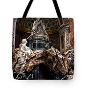 Tomb Of Pope Alexander Vii By Bernini Tote Bag
