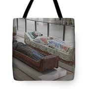 Tomb Of Richard I Of England Fontevraud Abbey Tote Bag