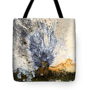 Tombstone Abstract Tote Bag