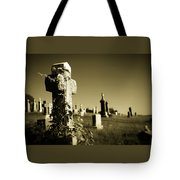 Tombstone Ivy Tote Bag