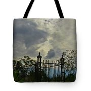 Tombstone Picture Perfect Halloween Image Tote Bag