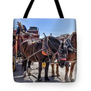 Tombstone Stagecoach 2 Tote Bag