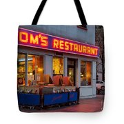 Tom's Restaurant Tote Bag