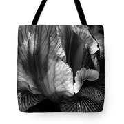 Tones Of Iris Tote Bag