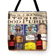 Tonic And Blood Purifier Tote Bag