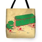 Tonka Truck Patent Tote Bag