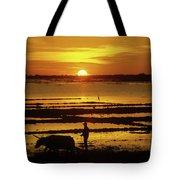 Tonle Sap Sunrise 01 Tote Bag