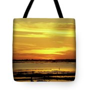Tonle Sap Sunrise 02 Tote Bag