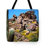 Tonto Saguaro Rocks 10189 Tote Bag