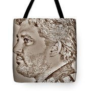 Tony Stewart In 2011 Tote Bag by J McCombie