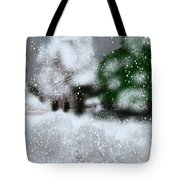 Too Close To Winter Tote Bag