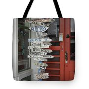 Too Many Choices Tote Bag