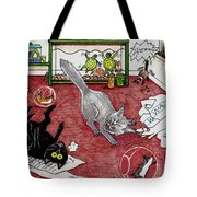Too Many Pets Tote Bag
