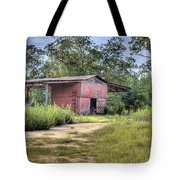Tool Shed Out Back Tote Bag