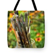 Tools Of The Painter Tote Bag