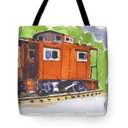 Toot Toot Tote Bag by Kip DeVore
