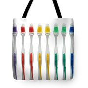 Toothbrushes Tote Bag