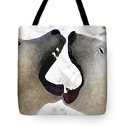 Toothy Bears Tote Bag
