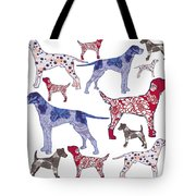 Top Dogs Tote Bag