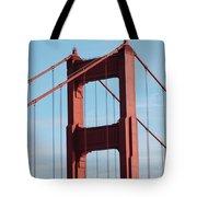 Top Of Golden Gate Bridge Tote Bag