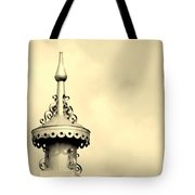 Top Of The Barn Tin Finial Tote Bag