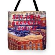 Top Of The Ben Tote Bag