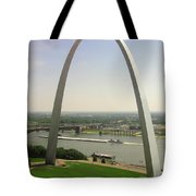Top Of The Riverfront Tote Bag