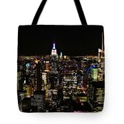 Top Of The Rock Tote Bag