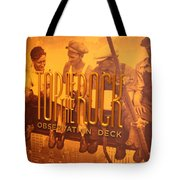 Top Of The Rock Observation Deck Tote Bag