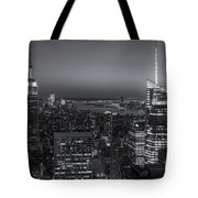 Top Of The Rock Twilight V Tote Bag