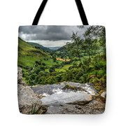 Top Of The Waterfall Tote Bag