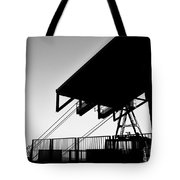 Top Of The World San Marino Cable Car Tote Bag