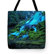 Top Part Of Clearwater Falls Tote Bag
